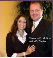 Shannon Mullins and wife Sheila